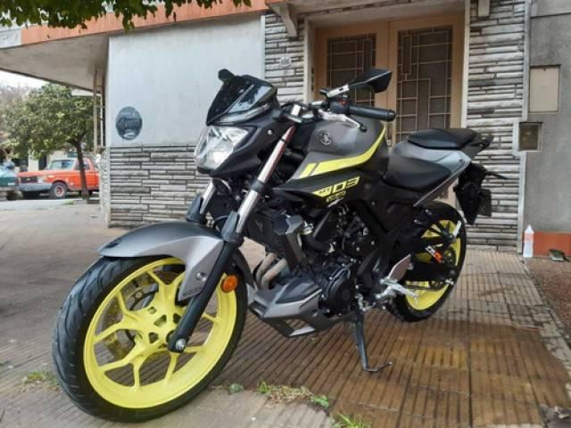 Yamaha MT 03 automático $6.000