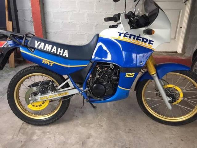 Yamaha tenere 125 ypvs 1989 46.300 kilómetros La Plata