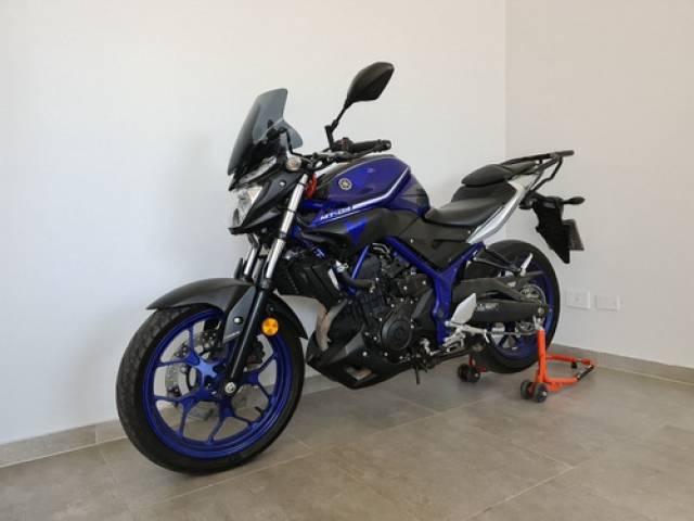 Yamaha MT 03 2017 azul 14.600 kilómetros Capital Federal
